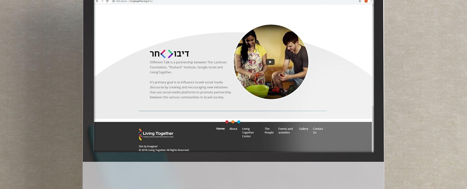 Living Together website