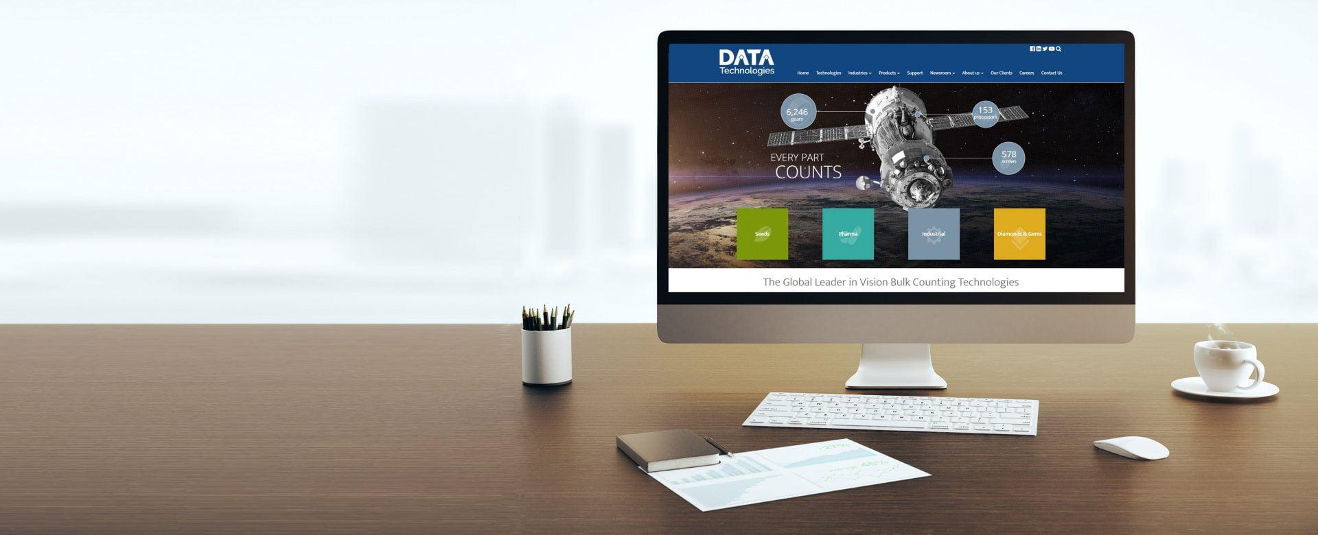 Data tech website