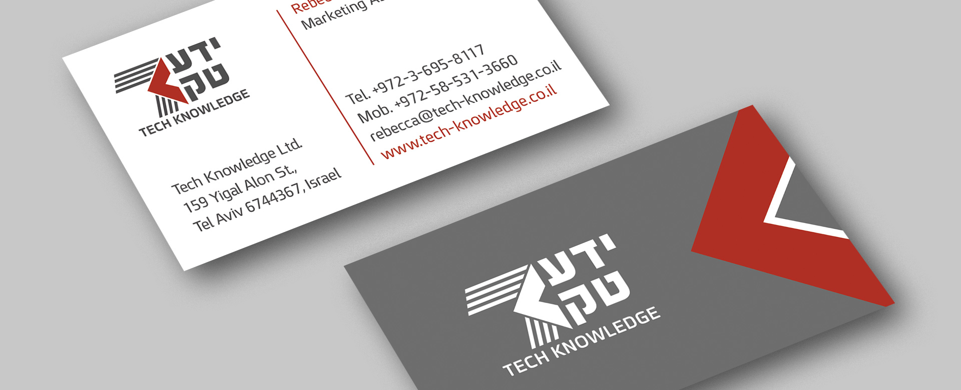 Tech Knowledge business card