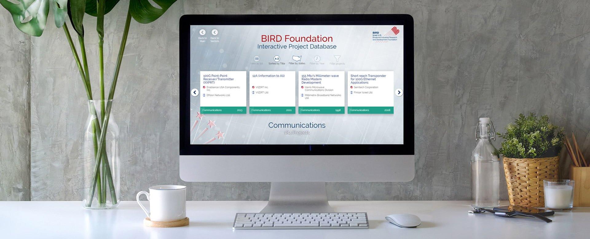 Bird website