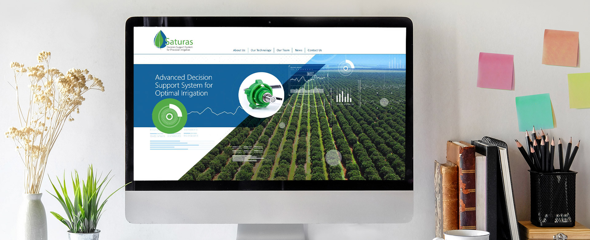 Saturas website